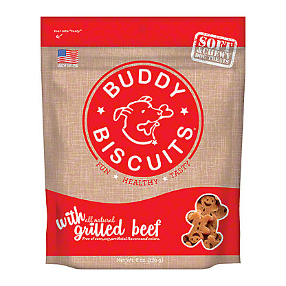 Buddy Bicuits Soft Grilled Beef Madness,6.00 oz