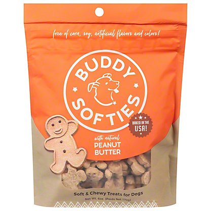 Cloud Star Buddy Biscuits Soft Peanut Butter Madness Buddy Biscuits,6.00 oz
