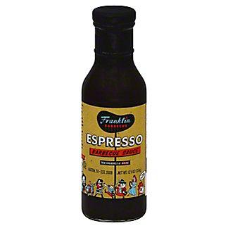 Franklin Barbecue Espresso Barbecue Sauce, 14 oz
