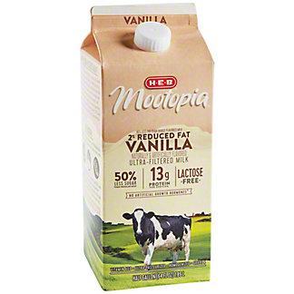 H-E-B Mootopia 2% Reduced Fat Vanilla,64.00 oz