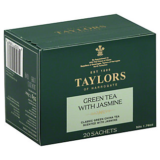 Taylors of Harrogate Green Tea With Jasmine,20 - 2.5 g sachets [1.76 oz (50 g)]