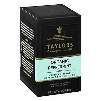 Taylors of Harrogate Organic Peppermint Tea,20 - 2 g sachets [1.41 oz (40 g)]