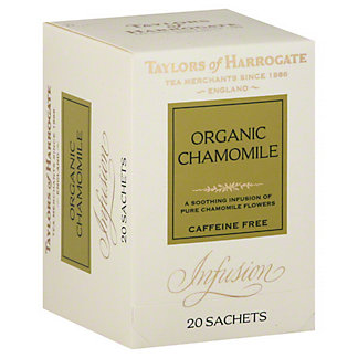 Taylors of Harrogate Organic Chamomile Tea,20 sachets [1.8 oz (50 g)]