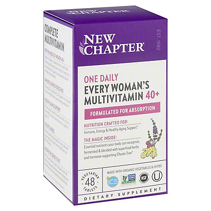 New Chapter Every Woman's One Daily 40+ Multi Tablets,48 CT