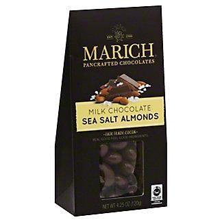 Marich Milk Chocolate Covered Almonds Box, 4.5 oz