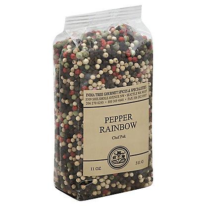 India Tree Rainbow Pepper Chef Pak, 11 oz
