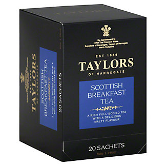 Taylors of Harrogate Scottish Breakfast Tea,20 - 2.5 g sachets [1.76 oz (50 g)]