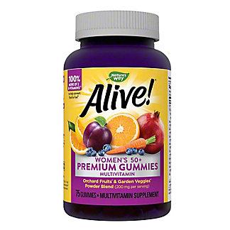 Nature's Way Alive! Women's 50+ Gummy Vitamins,75 CT
