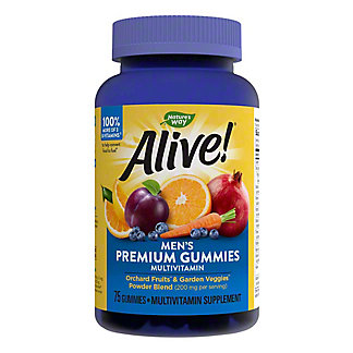 Nature's Way Alive! Men's Gummy Vitamins,75 CT