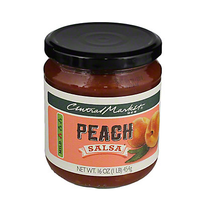 Central Market Peach Salsa, 16 oz