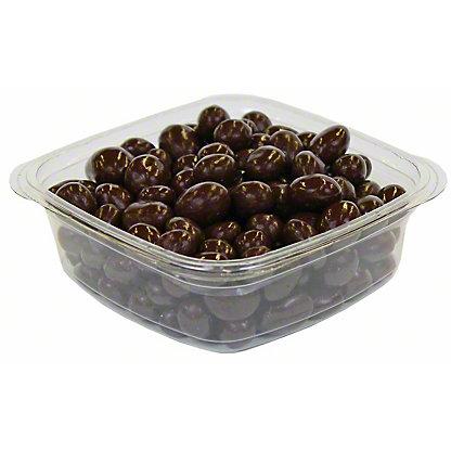 Nassau Candy Dark Chocolate Covered Raisins,LB