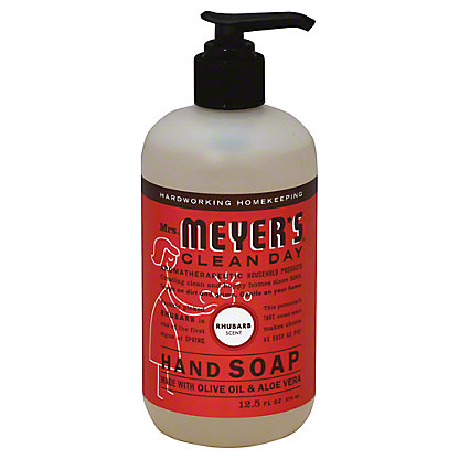Mrs. Meyer's Clean Day Rhubarb Scent Liquid Hand Soap, 12.5 oz