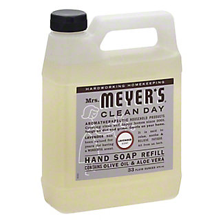 Mrs. Meyer's Clean Day Lavender Hand Soap Refill, 33 oz