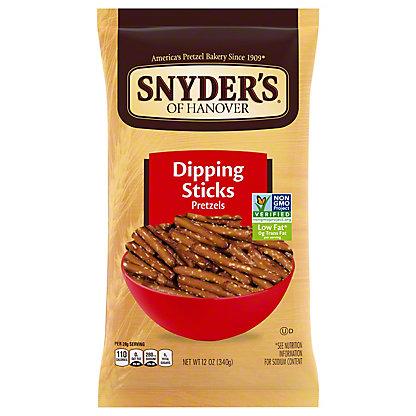 Snyder's of Hanover Old Fashioned Dipping Sticks Pretzels,12 OZ