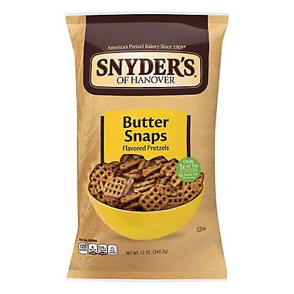 Snyder's of Hanover Butter Snaps Pretzels,12 OZ
