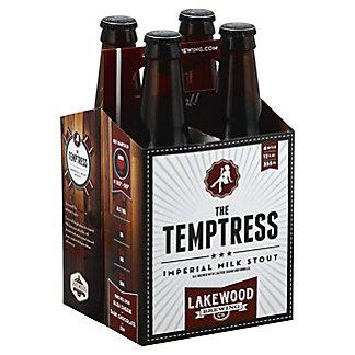 Lakewood The Temptress Imperial Milk Stout 12oz Bottles,4 PK