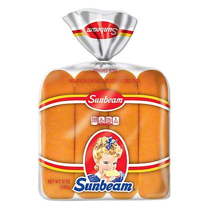Sunbeam Hot Dog Buns,8 CT