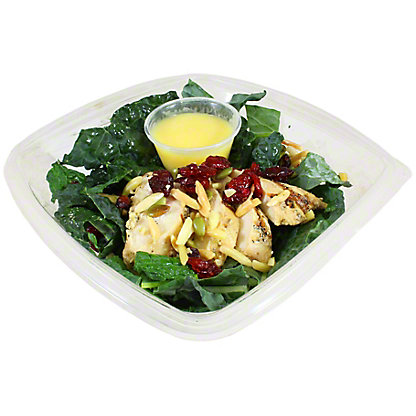 Central Market Kale Cranberry Pepita Salad With Chicken, ea