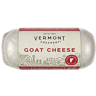Vermont Creamery Fresh Goat Cheese - Classic Chevre, 4 OZ