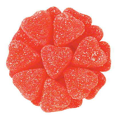 Ferrara Cupid Jelly Hearts, Sold by the pound
