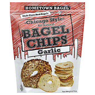 Hometown Bagel Chicago Style Garlic Bagel C hips,6OZ