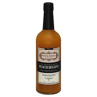 Powell & Mahoney Peach Bellini Non-Alcoholic Cocktail Mixer, 25.36 oz