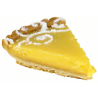 Lemon Tart Slice, 3 oz