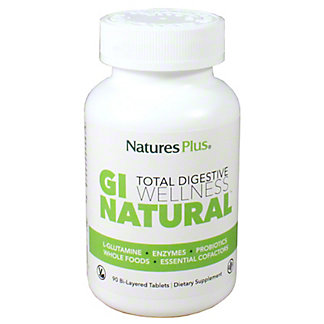 Natures Plus GI Natural Total Digestive Wellness, 90 CT