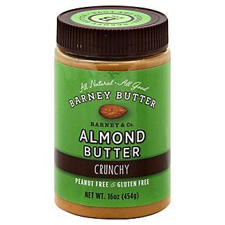 Barney Butter Almond Butter Crunchy, 16 oz