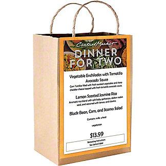 VEG ENCHILADA DINNER FOR TWO