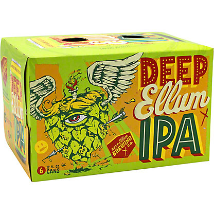 Deep Ellum Indian Pale Ale 6 PK Cans,12 OZ