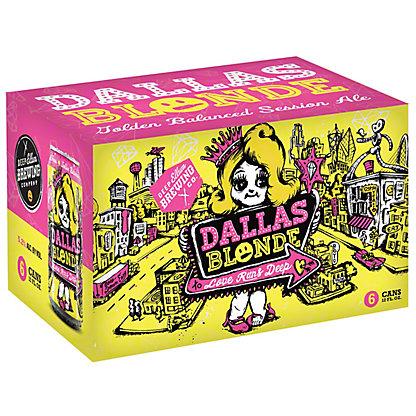 Deep Ellum Dallas Blonde 6 PK Cans,12 OZ