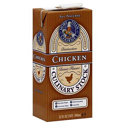 More Than Gourmet Chicken Stock,32OZ