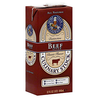 More Than Gourmet Beef Style Culinary Stock,32OZ