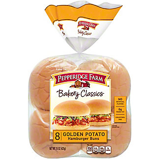Pepperidge Farm Bakery Classics Golden Potato Hamburger Buns,8 CT
