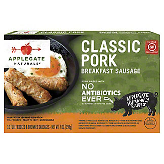 Applegate Naturals Classic Pork Breakfast Sausage, 7 oz