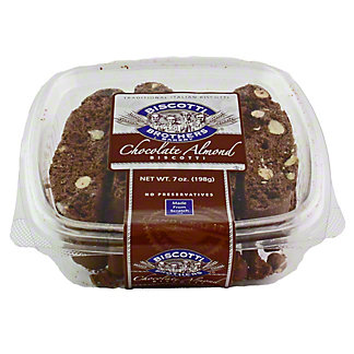Biscotti Brothers Chocolate Almond Biscotti,7.00 oz