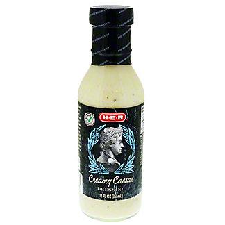 H-E-B Creamy Caesar Dressing,12.00 oz