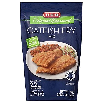 H-E-B Original Seasoned Catfish Fry Mix, 10 oz