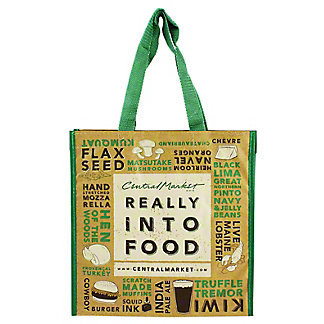 Central Market Really Into Food Wine Tote, EACH