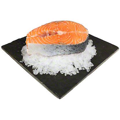 Central Market Fresh Verlasso Salmon Steak, 1LB