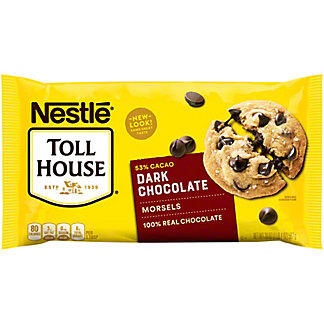 Nestle Toll House 53% Cacao Dark Chocolate Morsels, 20 oz