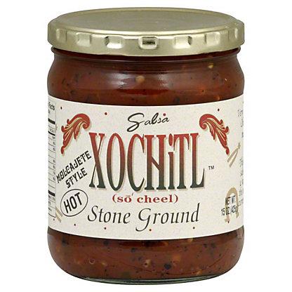 Xochitl Stone Ground Hot Salsa,15OZ