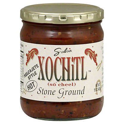 Xochitl Stone Ground Hot Salsa,15OZ