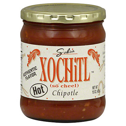 Xochitl Chipotle Hot Salsa,15OZ