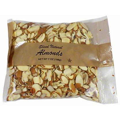 Central Market Natural Sliced Almonds, 7 oz