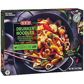 Central Market Drunken Noodles With Chicken,12 oz