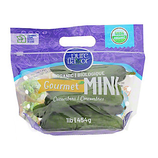 Sunset Organic Mini Cucumbers, 4 ct