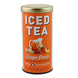 The Republic of Tea Iced Tea Ginger Peach Black Tea,8 CT