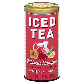 The Republic of Tea Iced Tea Hibiscus Sangria Herbal Tea, 2 oz